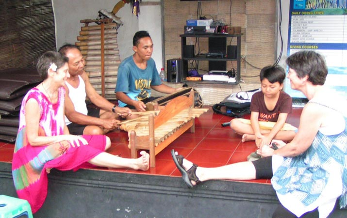 Gamelan Teacher